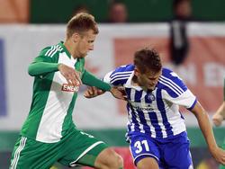 Brian Behrendt verletzte sich gegen HJK Helsinki
