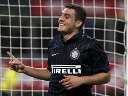 Mateo Kovačić fühlt sich bei Inter sehr wohl und will seinen Vertrag verlängern.(03.12.2014)