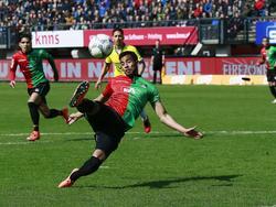 Marcel Appiah spielte bis zu diesem Sommer für den NEC Nijmengen
