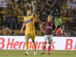 Gignac acudió en su feudo a su cita con el gol. (Foto: Imago)