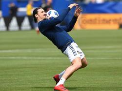 Zlatan Ibrahimovic spielt nun in der MLS für LA Galaxy