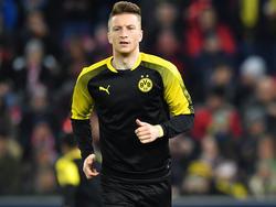 Droht BVB-Coach Peter Stöger gegen Hannover 96 auszufallen: Marco Reus