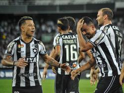 Botafogo consiguió su pase a la siguiente fase en Brasil. (Foto: Imago)