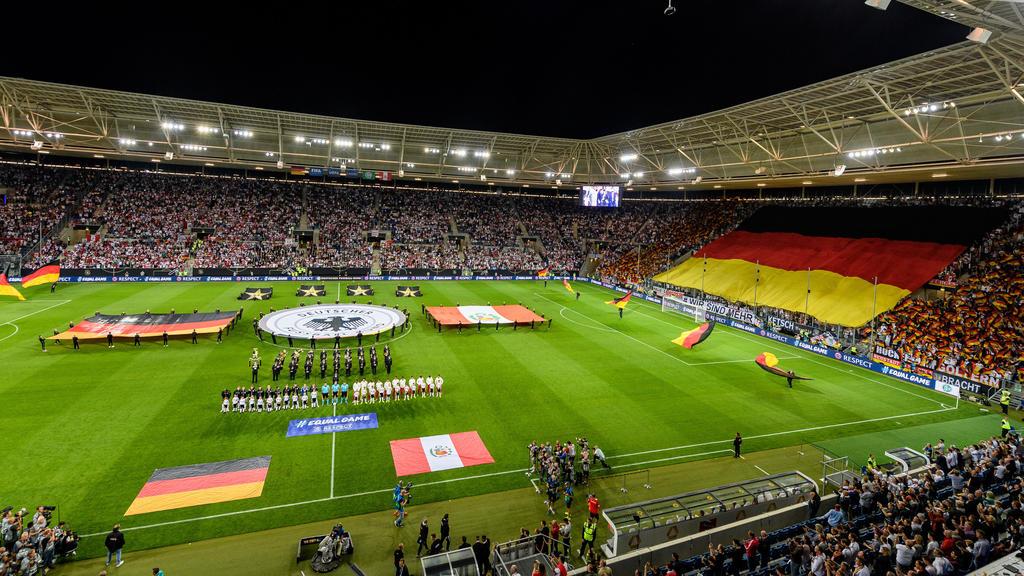 Der DFB setzt vor dem Spiel ein Zeichen gegen Rassismus
