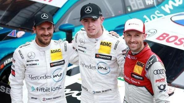 Gary Paffett, Paul di Resta und René Rast: Einer von ihnen wird DTM-Champion 2018