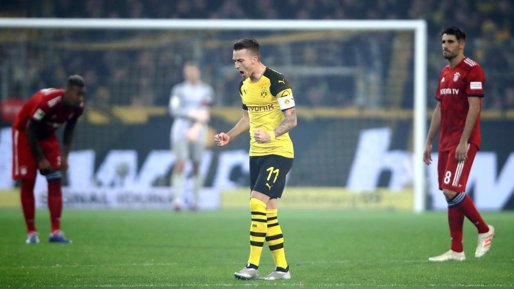 Marco Reus erzielte für den BVB einen Doppelpack gegen den FC Bayern
