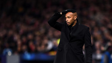 Thiery Henry trainiert seit Oktober die AS Monaco