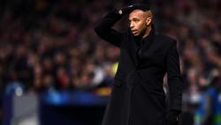 Schwer angeschlagen: Thierry Henry