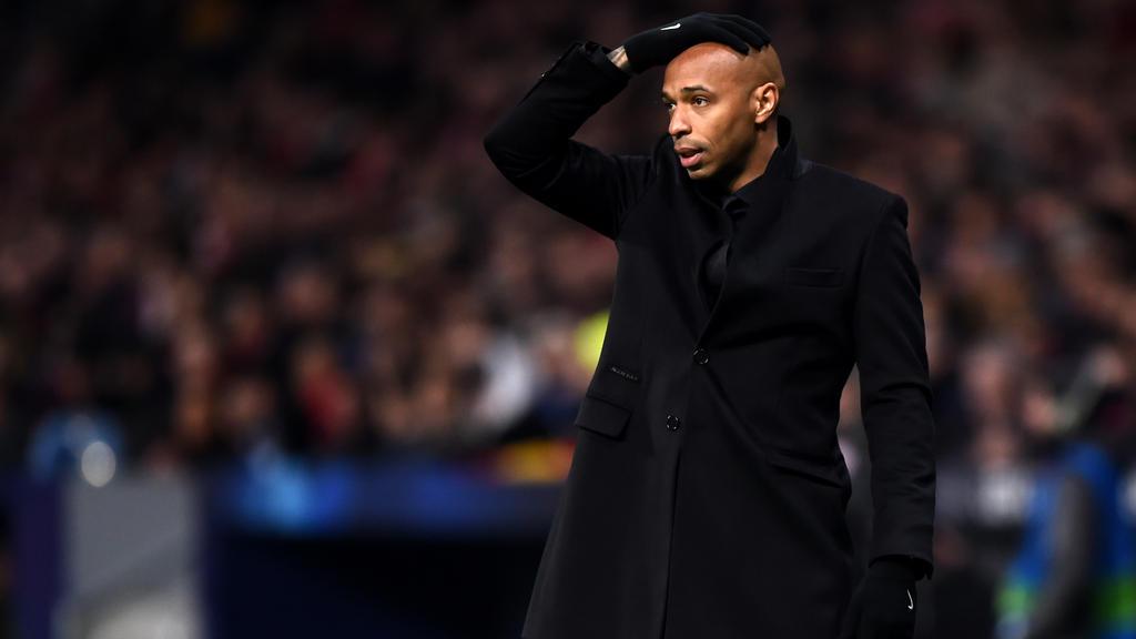 Thierry Henry - Trainer für 104 Tage