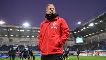 Markus Anfang steht beim 1. FC Köln in der Kritik