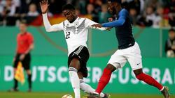 Jordan Torunarigha von Hertha BSC reiste nicht mit nach England