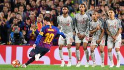 Lionel Messi wird von der internationalen Presse gefeiert