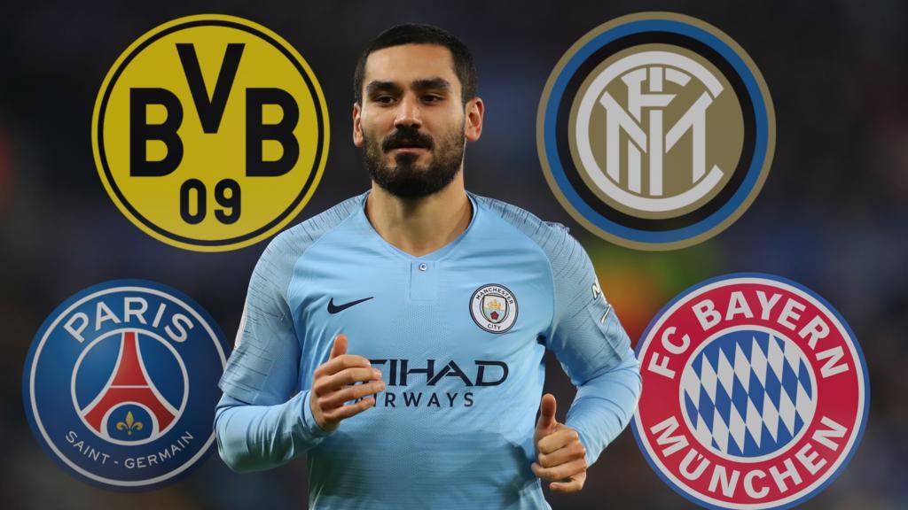 Wohin zieht es Ilkay Gündogan von Manchester City im Sommer?