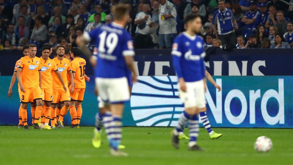 Satte fünf Tore schossen die Hoffenheimer auf Schalke