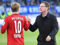 Ralf Rangnick, director deportivo del sorprendente RB Leipzig. (Foto: Imago)