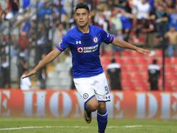Felipe Mora anotó el doblete del conjunto dirigido por Paco Jémez. (Foto: Imago)