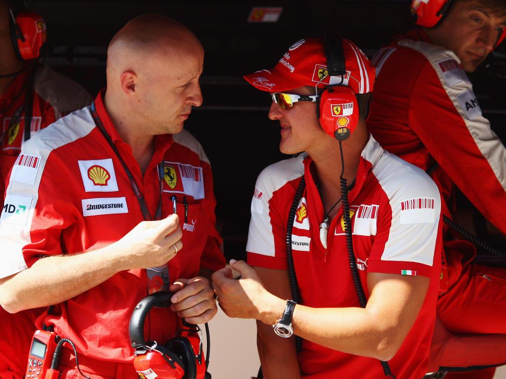 Die Scuderia hat Michael Schumacher zu seinem 49. Geburtstag gratuliert