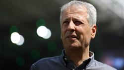 BVB-Trainer Lucien Favre stellte sich vor dem Pokalspiel den Fragen der Presse
