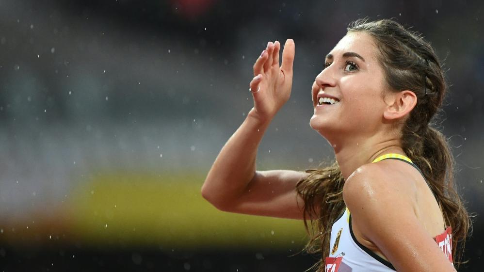 Gesa Felicitas Krause lief über 2000 m Hindernis einen neuen Weltrekord