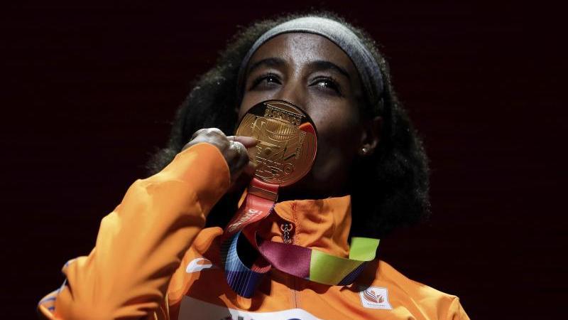 Sifan Hassan, Mitglied im Nike Oregon Project, gewann WM-Gold über 1500 und 10.000 Meter