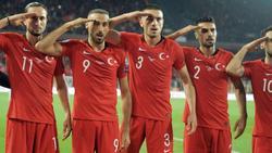 Die türkischen Spieler zeigten in der EM-Qualifikation einen umstrittenen Jubel
