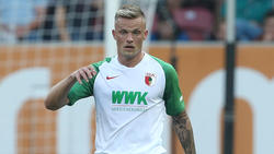 Philipp Max spielt bisher eine mäßige Saison mit dem FC Augsburg