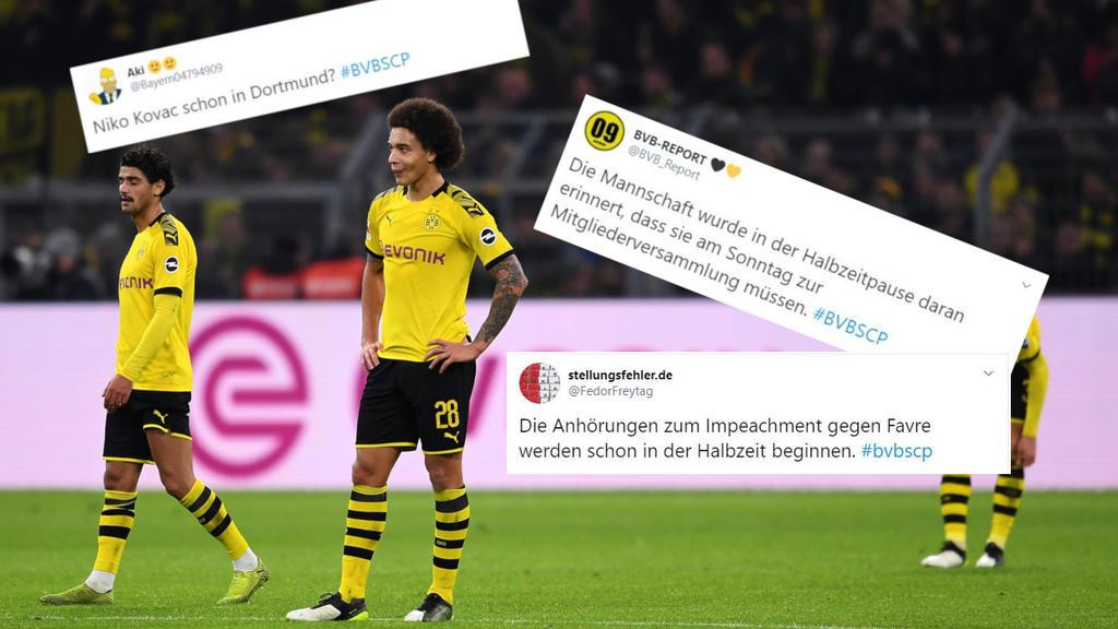 Bvb Netz Reaktionen Zur Dortmunder Blamage Gegen Paderborn