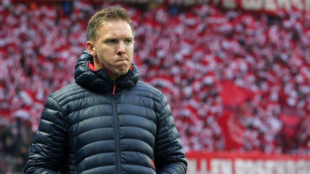 Spricht über das von Niko Kovac beim FC Bayern: Trainer Julian Nagelsmann von RB Leipzig