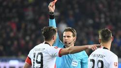 Eintracht Frankfurts Abraham sah gegen Freiburg die Rote Karte