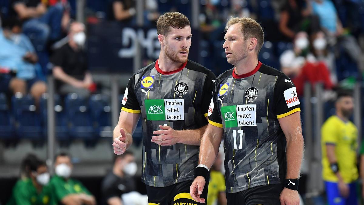 Die deutschen Handballer mussten sich Spanien geschlagen geben