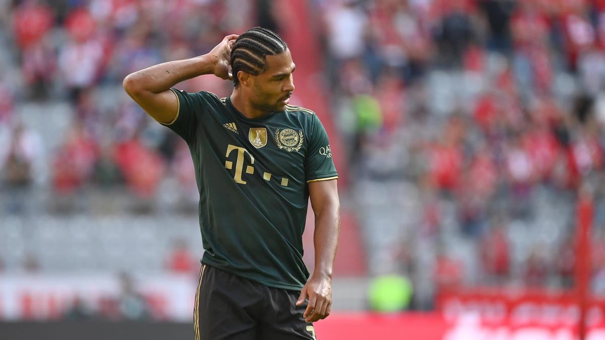 Serge Gnabry fehlte im Training des FC Bayern