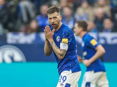 Bei Schalkes Guido Burgstaller ist daheim immer was los
