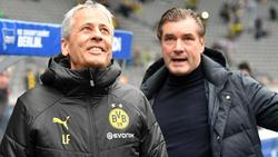 Beim BVB gibt es laut Michael Zorch (re,) keine Trainerdebatte