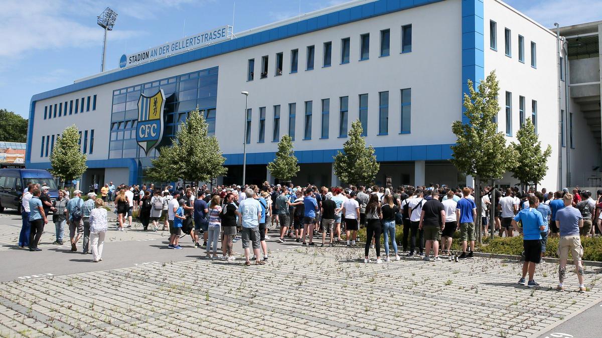 Bereits über 140.000 € spendeten Fans dem Chemnitzer FC