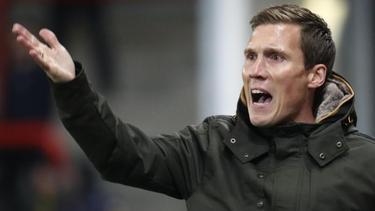 Hannes Wolf ist nicht mehr Trainer des KRC Genk