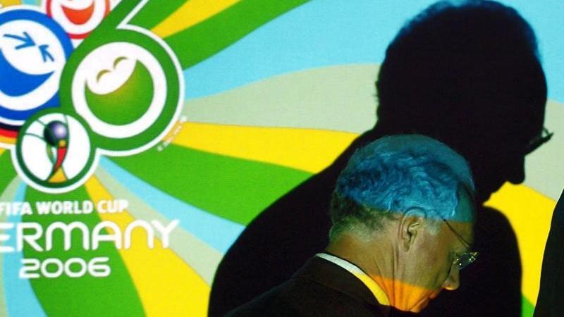 Franz Beckenbauer geriet wegen der WM-Vergabe von 2006 in den Fokus