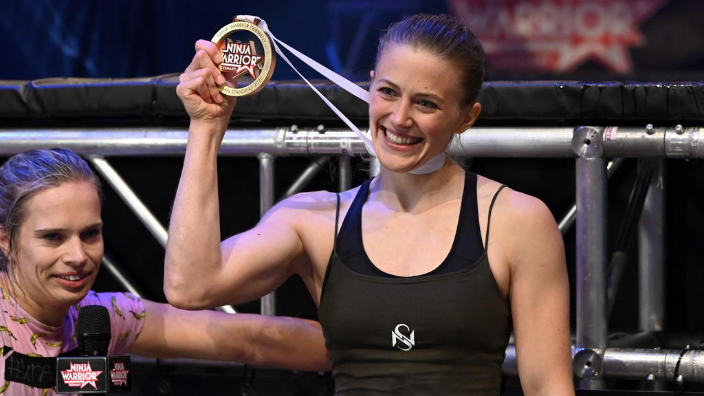 Stefanie Noppinger ist Last Woman Standing in der 5. Staffel von Ninja Warrior Germany
