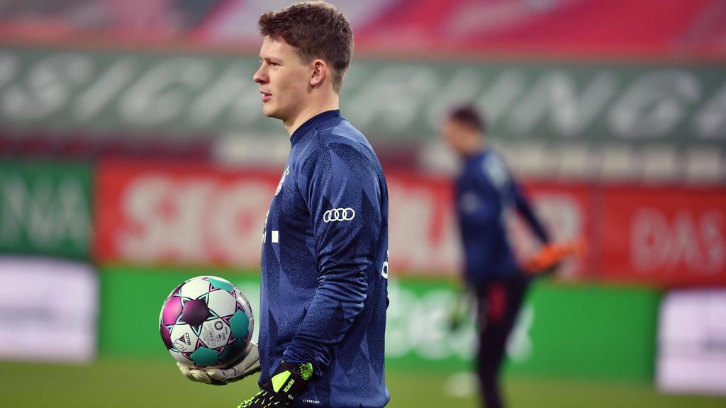 Alexander Nübel ist Ersatztorwart beim FC Bayern
