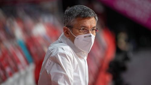 "Herbert Hainer, Präsident des FC Bayern, war zu Gast bei ""Sky90"""