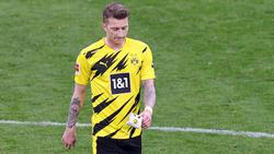 BVB-Kapitän Marco Reus ließ in den letzten Wochen nicht nur die Körpersprache vermissen