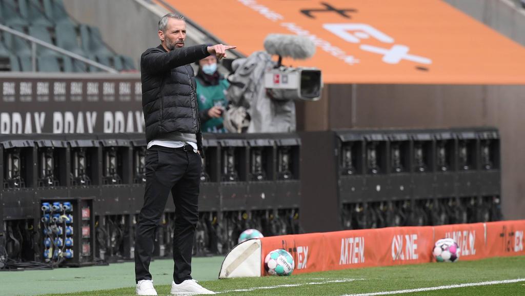 Gladbach-Coach Marco Rose will die europäischen Ränge erreichen