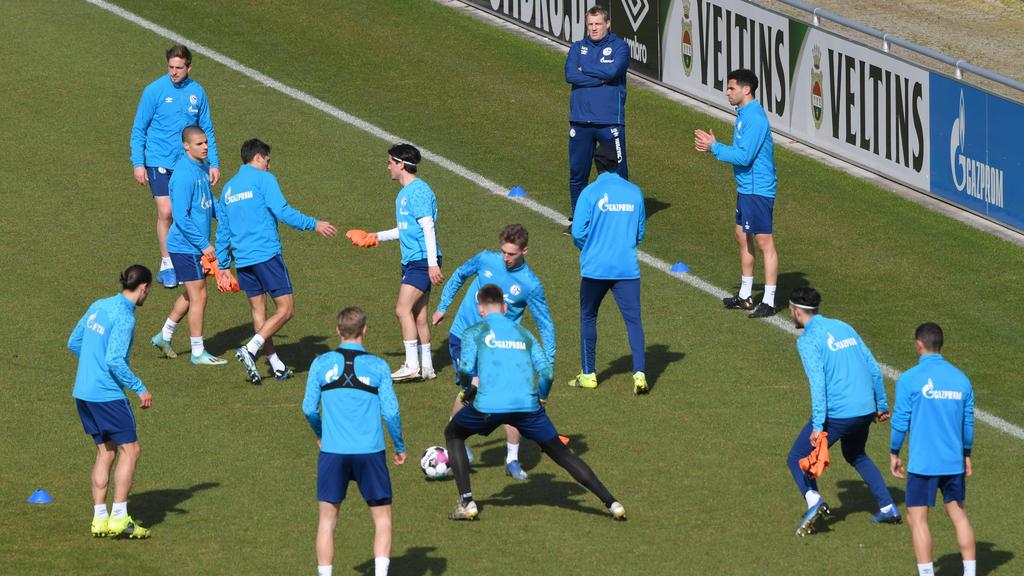 Schalke-Training nach Coronafall abgesagt