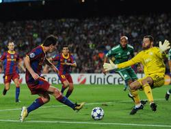 CL 2010/11: Barcelona ohne Mühe gegen Panathinaikos