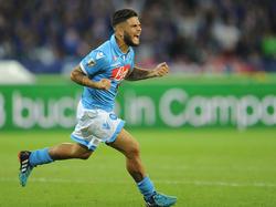 Lorenzo Insigne wird auch weiterhin für Napoli jubeln