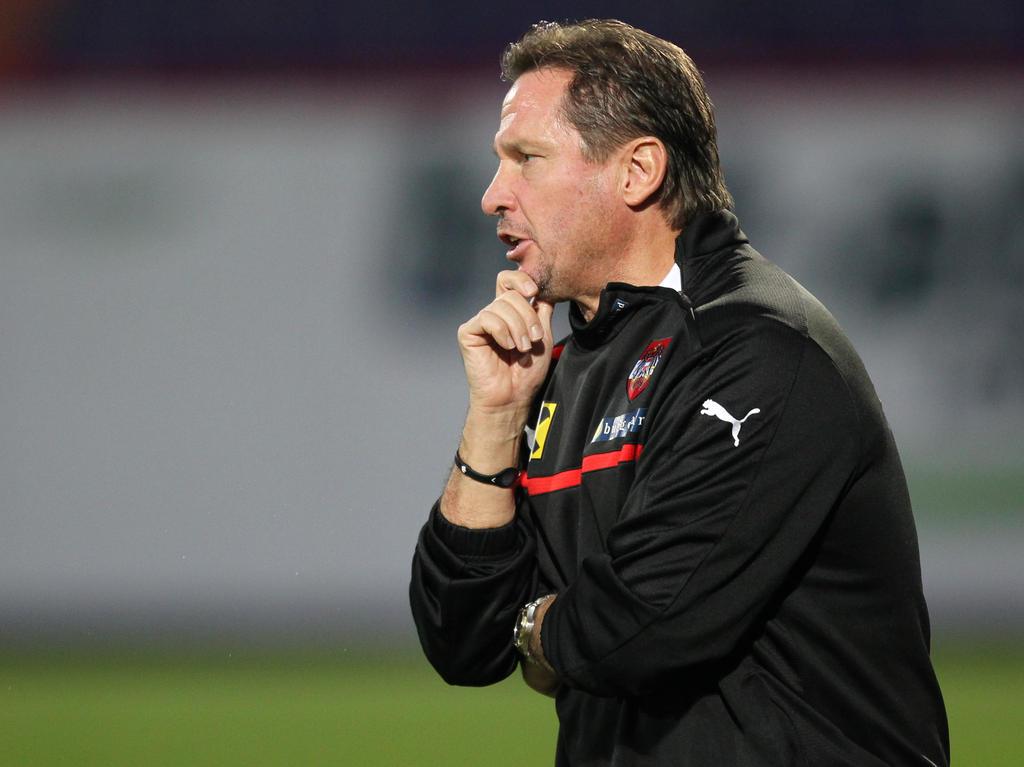 U21-Teamchef Werner Gregoritsch musste seinen Kader an vielen Stellen ändern