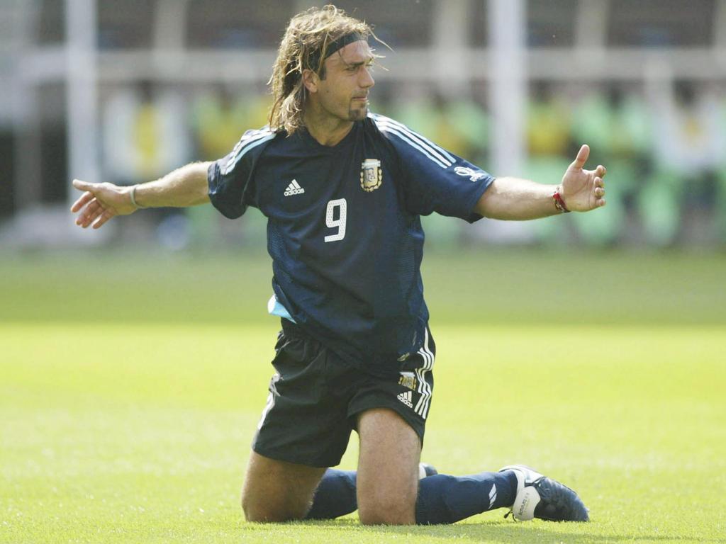 Batistuta disputó el Mundial 2002 de Corea y Japón.