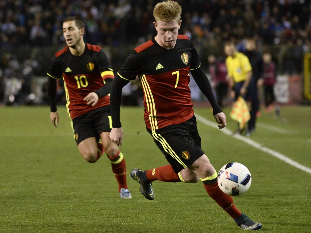 EURO » News » De Bruyne fuels hopes for buoyant Belgium
