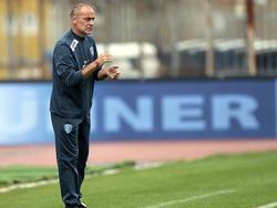 Martusciello da instrucciones en un Empoli-Sassuolo de esta temporada. (Foto: Getty)