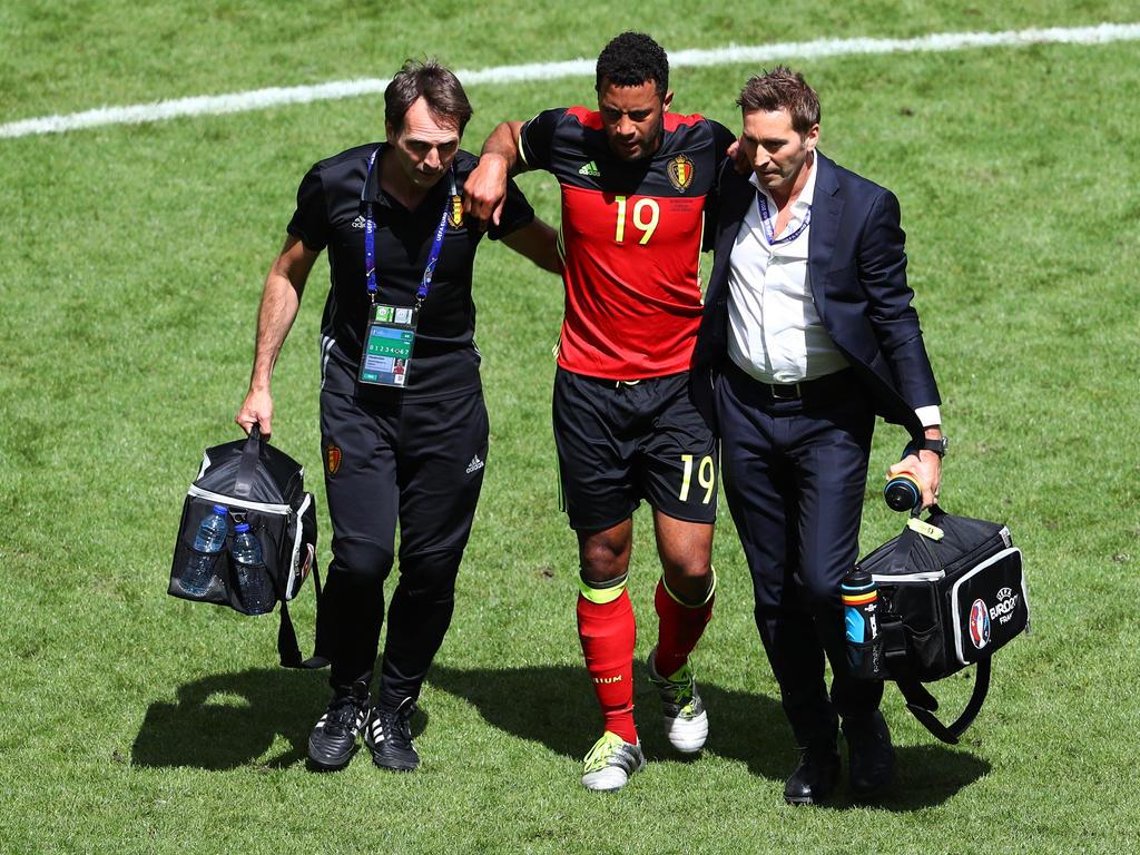 Dembélé hat sich gegen Irland verletzt