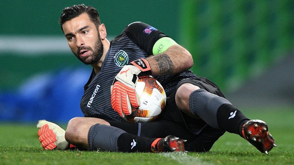 Sporting Lissabon will für den Wechsel von Torwart Rui Patricio eine Ablösesumme